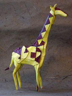 Origami, papiroflexia, cocotología (1): España, Francia, EEUU - What Ronronia wants. Jirafa