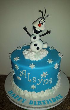 Olaf cake | Mick's Sweets -  Flickr - Photo Sharing!