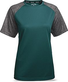 DAKINE Dropout Jersey  Short Sleeve  Womens Harbor M -- Read more  at the image link.Note:It is affiliate link to Amazon. #FunCycling