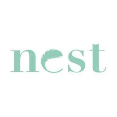 Nest Wordmark by Tess Belke
