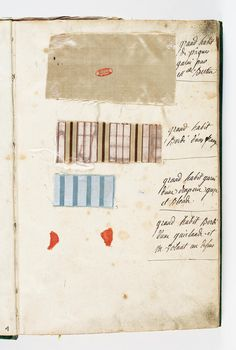 Gazette of Queen Marie Antoinette's attire for the year 1782. Ministry of Culture - Archim Foundation