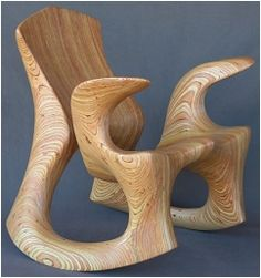 Rocking chair by David Delthony