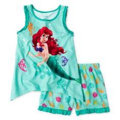 Disney Ariel 2-pc. Sleep Set - Girls 2-10  found at @JCPenney