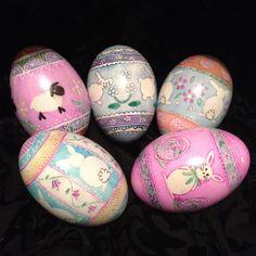 Easter pysanky