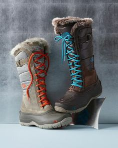 The North Face Shellista Lace-Up Boots - Garnet Hill