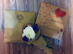 wrap gift package diy