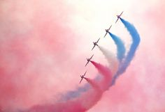 The Red Arrows at Cosford air show