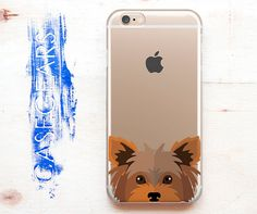 iPhone SE Case Cute iPhone Case iPhone 5s Case Dog iPhone 5c Case iPhone 6s Case Animal iPhone 4 Phone Cute Clear Protective Case CGCP0070