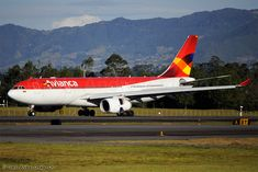 Colombia based Avianca Airbus A330-200
