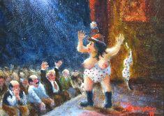 REIJO KIVIJÄRVI - Riptiisinainen heittää kaiken pois / The Dancer Takes It all Off The Dancer, Finland, Fine Art, Painting, Painting Art, Paintings, Visual Arts, Painted Canvas, Drawings
