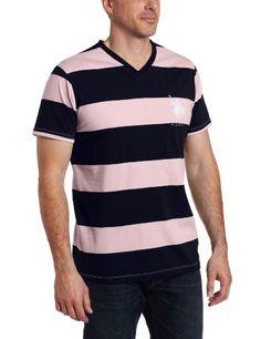 U.S. Polo Assn. Men`s Short Sleeve T-Shirt With Stripes