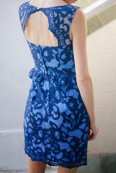@Sarah Tucker in Lilly Pulitzer Fall '13- Kiri Dress