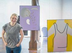 Cornelia Baltes artist   Überzeugt mit Leichtigkeit: Cornelia Baltes in ihrer Ausstellung ...