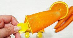 """Con el calor (y sin él), siempre apetece un polo fresquito (paletas). Hoy veremos cómo hacer polos helados de zanahoria y naranja saludables, sin azúcar y facilísimos de preparar. Seguro que hay alguien pensando, """"…hala, pero cómo vas a hacer helados de zanahoria? ¡Que eso es verdura!"""". Pues están riquísimos. Se me ha ocurrido hacerlos porque estos días está haciendo mucho calor, ... Garden Trowel, Garden Tools, Healthy Desserts, Gelato, Diabetes, Carrots, Vegetables, 3, 4 H"""
