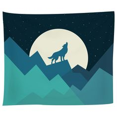 It's a blanket…It's a sheet…No, it's a tapestry! Our tapestries are durable and extremely versatile, adding drama and interest wherever they go—just without the cape. Showcase it on your wall...