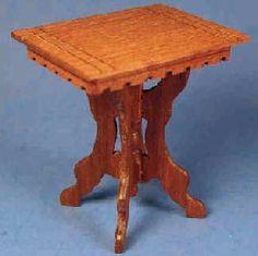 Herb Wallick, Creekside Craftsman - Victorian Eastlake parlor table