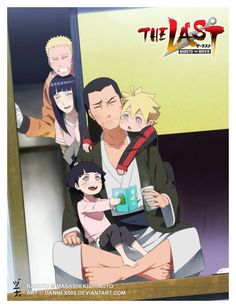 Naruto: The Last Movie - official anime art / naruhina