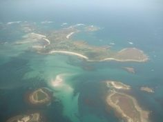The Scilly Isles.