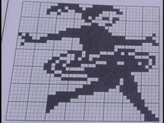Gráficos para croché #crochet #crochetfilet #pontocruz #crochetjacquard
