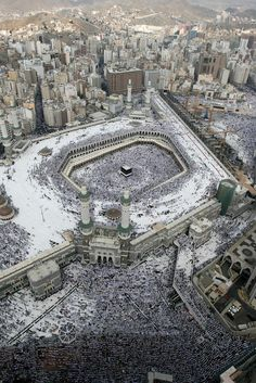 Mecca. absolutely. unreal.