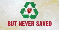 Only idiots will understand this :) Jesus of suburbia: hearts recycled but never saved.