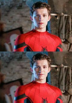 Tom Holland Peter Parker, Hero Marvel, Marvel Avengers, Siper Man, Tom Holand, Baby Toms, My Tom, Tommy Boy, Men's Toms