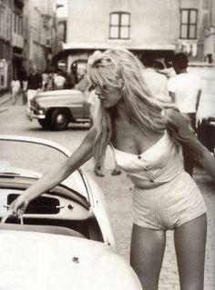 Brigitte Bardot- blow up some retro BW images for hallway of vintage starlets