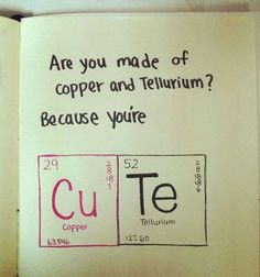 Nerdy pick up lines :D