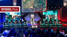 Article about league of legends and esports in general at spiegel one of  the largest if