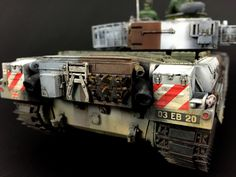 The Modelling News: Takom's 1/35 Chieftain Mk.10 Pt.III - Painting and Weathering