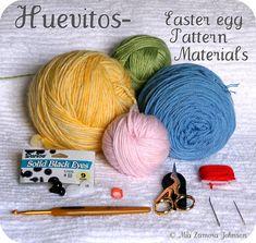 Huevitos- pattern supplies