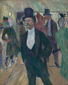 Toulouse-Lautrec. Monsieur Fourcade, 1889. MASP