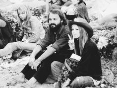 French hippies in 1970 (AFP)
