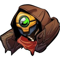 Flak the Beast Master from Borderlands 3 More robots on the way soon! Fallout New Vegas, Fallout 3, Hard Drawings, Borderlands Series, Bioshock, Dragon Age, World Of Warcraft, Fantasy World, League Of Legends