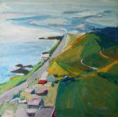 Paul Wonner - View From South Laguna