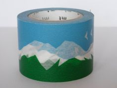 washi masking tape . snowy mountain ++ mt tape-too pretty to ruin!