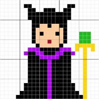 Maleficent - Stitch Fiddle