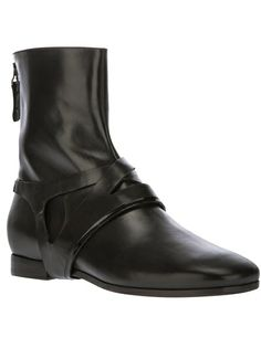 Carritz Leather Ankle Boot
