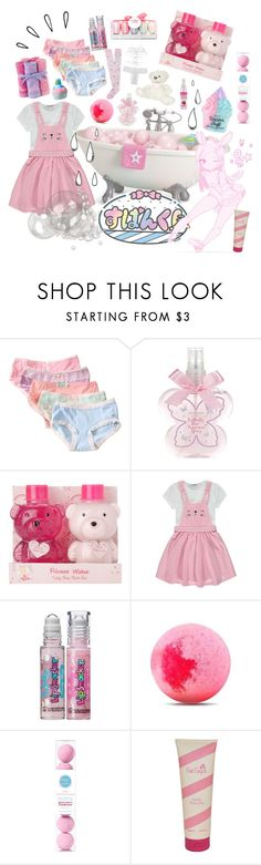 """""""Bathtime! ♡"""" by shy-kitten ❤ liked on Polyvore featuring beauty, Old Navy, Monsoon, George, Victoria's Secret, Danielle Creations, Disney, Me! Bath and Aquolina"""