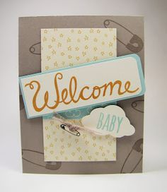 13 best welcome words images on pinterest welcome words stampin maddiebug designs welcome baby welcome words something for baby tree builder punch m4hsunfo