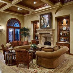 tuscan living room | Georgina House Inspiration | Pinterest ...