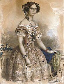 Barabás Portrait of Róza Laborfalvi West Art, Old West, Victorian, Painting, Budapest, Google, Dresses, November, Fashion