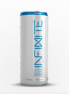 Packaging of the World: Creative Package Design Archive and Gallery: Infinite Energy Drink