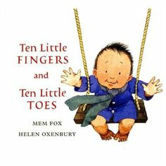 Ten Little Fingers and Ten Little Toes padded board book <3