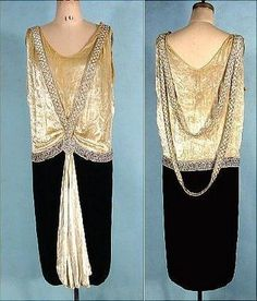 art deco - antique dress