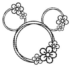 Excited to share this item from my shop: Flower and Garden SVG, Flower and Garden Mouse, Disne Disney Diy, Disney Crafts, Silhouette Cameo Projects, Silhouette Design, Vinyl Crafts, Vinyl Projects, Disney Designs, Disney Scrapbook, Scrapbooking