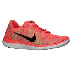 low priced 4aab6 db629 Nike Free 40 Flyknit Womens Running Shoes 105 Fuchsia Black gtgtgt