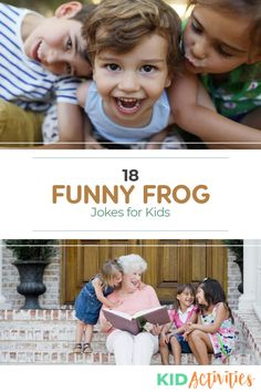 Check out these ever-GREEN frog jokes for kids. These jokes appropriate for any age and can be schared with students in the classroom or kids at dinner. Funny Riddles, Funny Jokes For Kids, Silly Jokes, Jokes Kids, Funny Puns, Funny Knock Knock Jokes, Frog Activities, Halloween Quotes, Funny Halloween