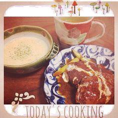 残りでハッシュドビーフに。。。 - 47件のもぐもぐ - 煮込みハンバーグ*コーンスープ by peco1024