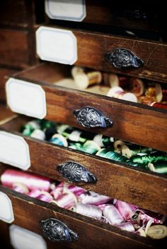 cotton reel drawers